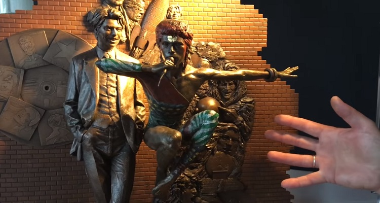 The World's First David Bowie Statue Is Unveiled
