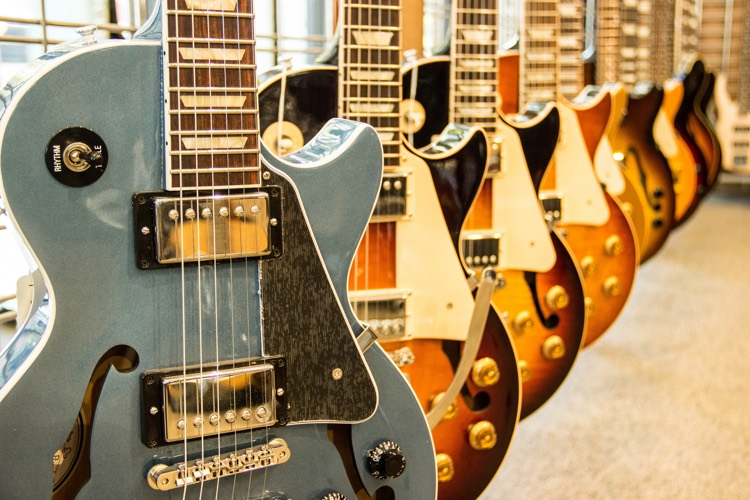 Electric Guitar Sales Have Plunged 23% Since 2008