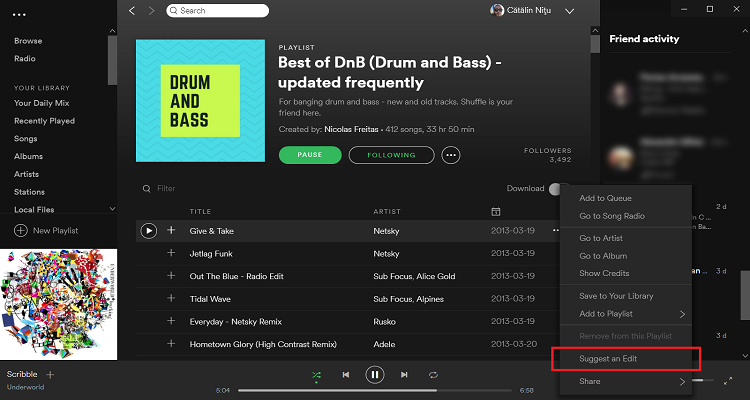 Spotify Has a Solution for Fixing Bad Metadata: Its 160 Million Active Users