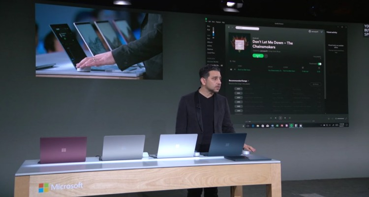 Microsoft Senior VP of Entertainment, Music & Gaming Jason Rutherford during a media presentation in Redmond, WA., March 30th, 2018