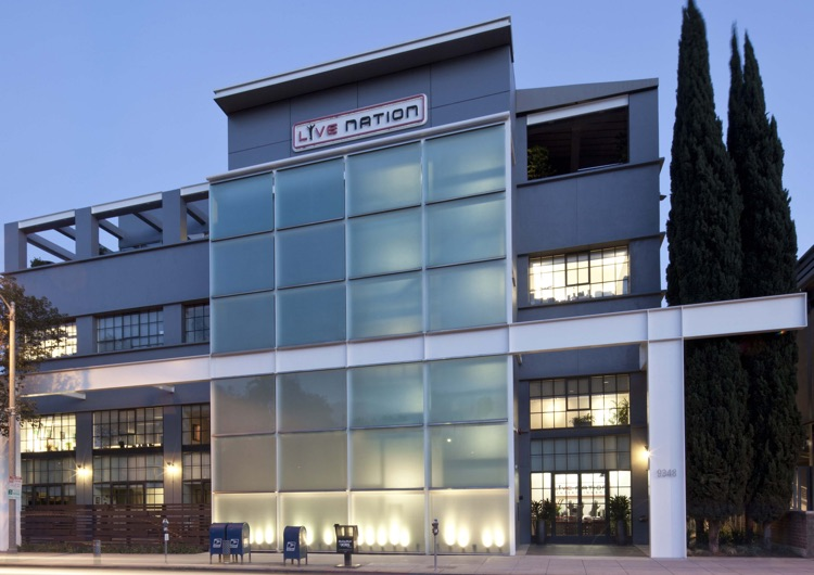 Live Nation HQ in Beverly Hills, CA