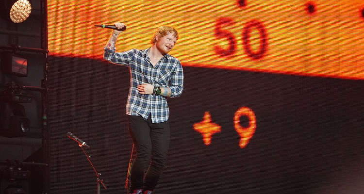 Ed Sheeran Blocked from Receiving 'Shape of You' Royalties