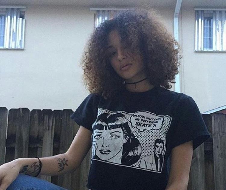 Geneva Ayala, XXXTentacion's girlfriend.