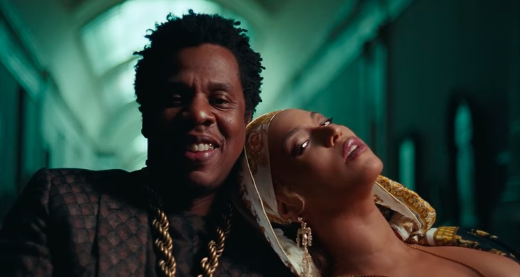 Beyonce & Jay-Z at the Louvre after hours on 'Apeshit,' the lead single from the brand-new album, Everything Is Love.