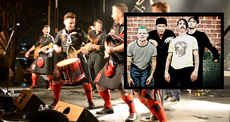 The Red Hot Chili Peppers vs. The Red Hot Chili Pipers