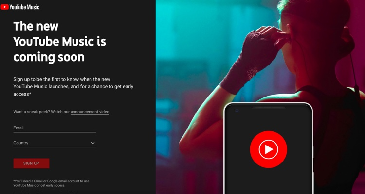 YouTube Music Is Now Running Ads — for a Site That Hasn't