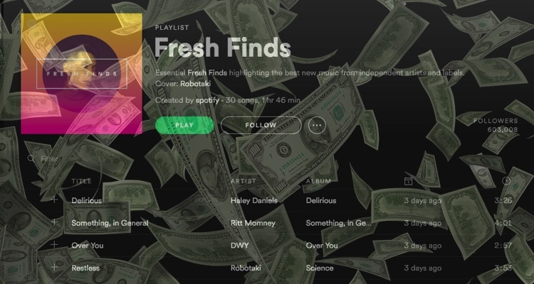 Does Spotify's New Playlist Consideration Feature Mean the End of Playlist Payola Companies?