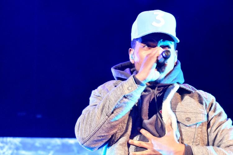 Chance the Rapper at Red Rocks, 2017 (photo: Julio Enriquez CC 2.0)