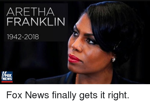 Fox News Apologizes for Using a Patti Labelle Photo to Honor Aretha Franklin