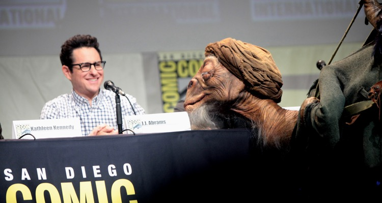 J.J. Abrams at San Diego Comic Con in 2015 (photo: Gage Skidmore CC 2.0)