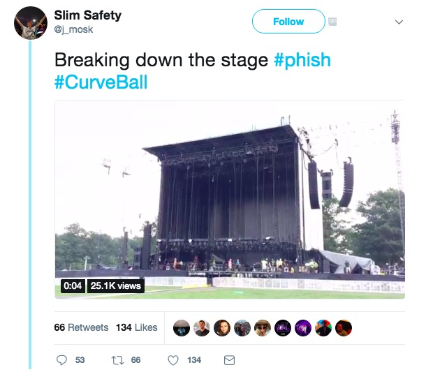 NY State Officials Cancel Phish's Curveball Festival Over Health Concerns
