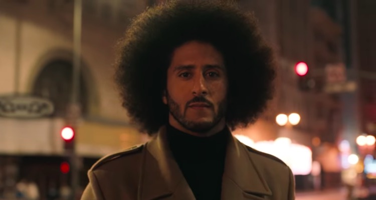 buy online b5692 5c626 A new Nike ad starring former NFL quarterback Colin Kaepernick is set to  debut during Thursday night s season-opening game. But who penned the  stirring ...