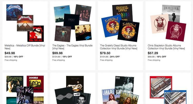Some high-priced vinyl bundles for the 'obsessed' aficionado