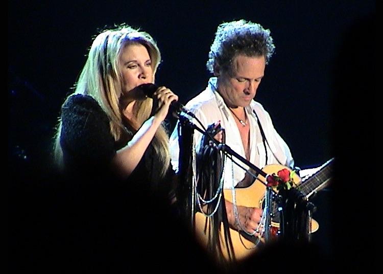 Better Days: Lindsey Buckingham performs alongside Stevie Nicks