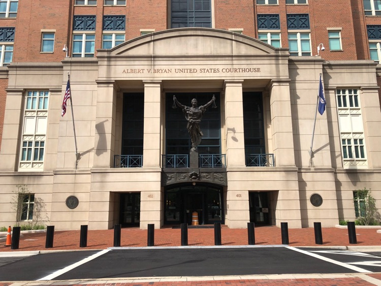 U.S. District Court for the Eastern District of Virginia, where UMG Recordings, et. al. vs. Tofig Kurbanov d/b/a FLVTO.biz is currently assigned.