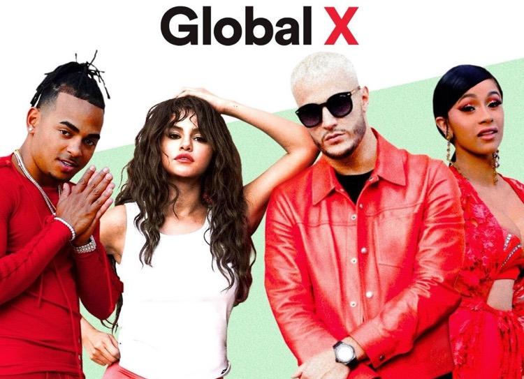 Spotify's Global X Playlist