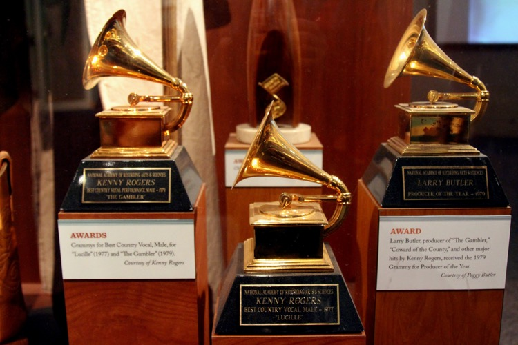 Grammys Trophies