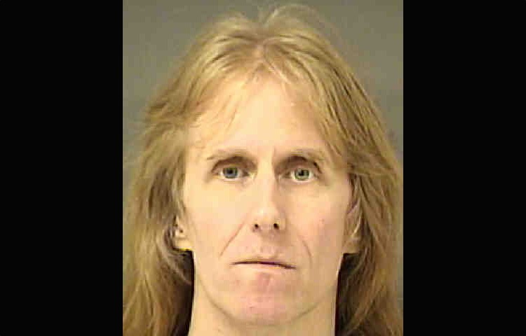 Mugshot of Manowar guitarist Karl Logan (Mecklenburg County Sheriffs Office)