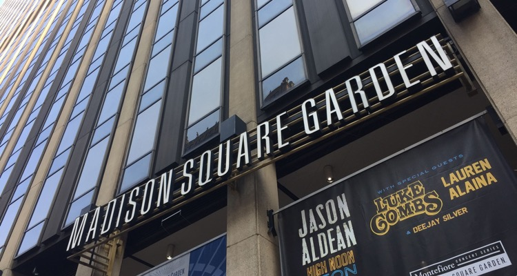Madison Square Garden (MSG) entrance