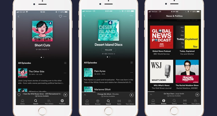 Guggenheim Partners Says Spotify's $500M Bet on Podcasts