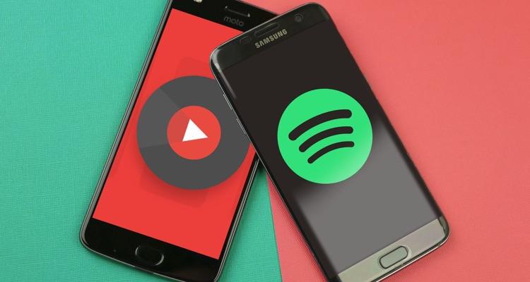 YouTube Music vs. Spotify... GO