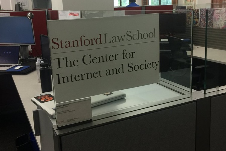 Stanford Law School's Center for Internet and Society, where the study took place.