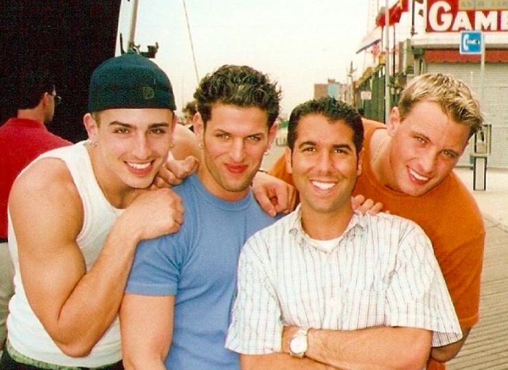 LFO in the 90s (Lima is 2nd from l)
