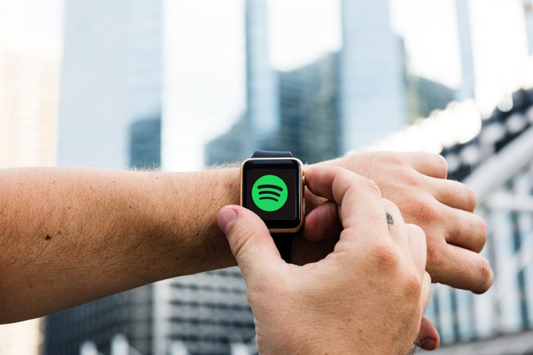 Image result for Spotify starts testing its Apple Watch app