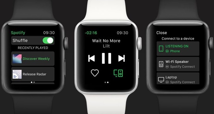 Spotify Officially Launches Its Apple Watch App — But It's Pretty Bare-bones