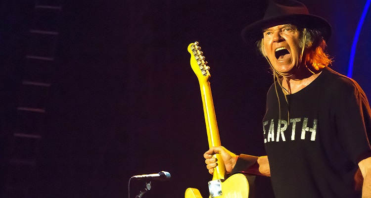 "Neil Young Claims A Major Victory Against ""fossil Fuel Funding"" Corporate Sponsorship"