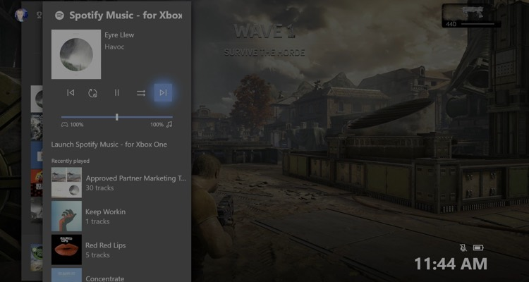 Spotify Steps Up Its 'game' On Xbox One With Cortana Voice Commands