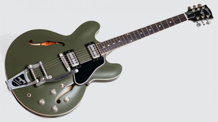 Gibson Unveils Its Chris Cornell Tribute Es-335 Signature Guitar