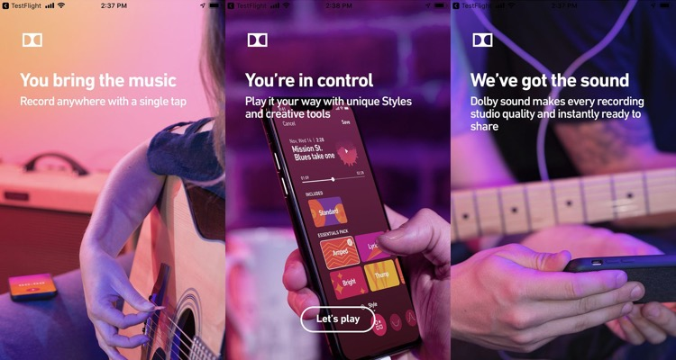 Dolby Is Working On An App That Delivers 'studio Quality' Recording