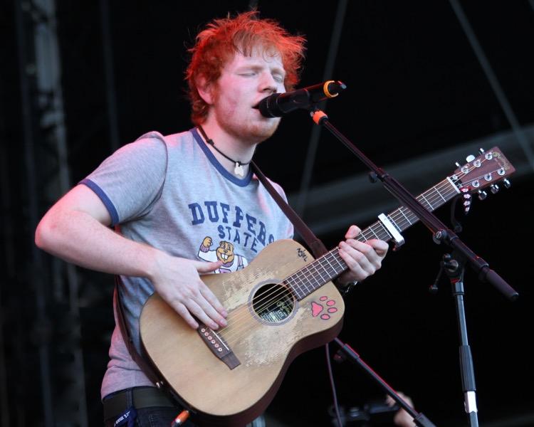 Ed Sheeran Launches A Signature Small Guitar Line