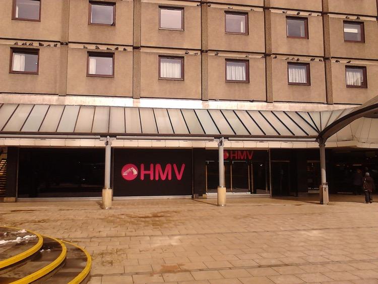 HMV in St. James Centre Edinburgh, 2013 (photo: Ninian Reed CC 2.0)