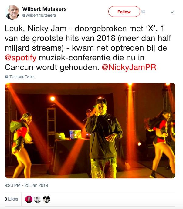 spotify nicky jam