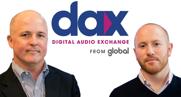 Digital Audio Exchange (DAX) chief revenue officer DAX Jeff McCarthy (l) and CEO Matt Cutair.