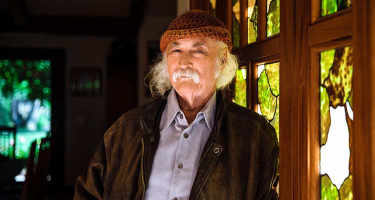 Sesac Signs Folk Legend — And Very Active Modern-day Artist — David Crosby