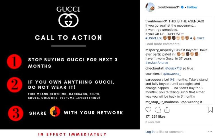 d8d014f69b7 Gucci Faces a Major Boycott Following Its Blackface Sweater — T.I. ...