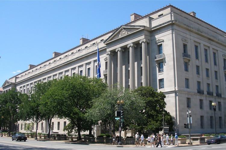 U.S. Department of Justice headquarters, Washington, DC