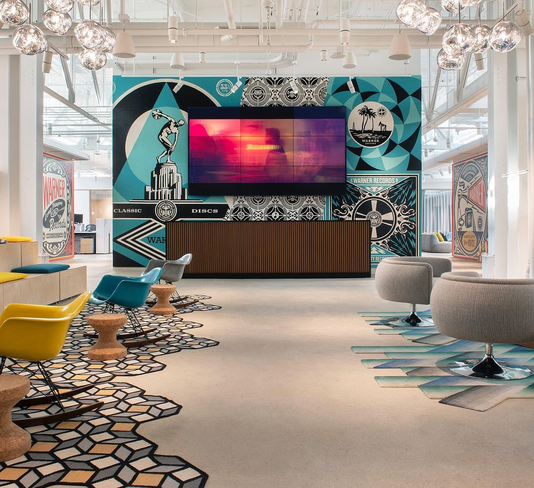 Warner Music Group Unveils Its Swanky DTLA Digs — Take a Look