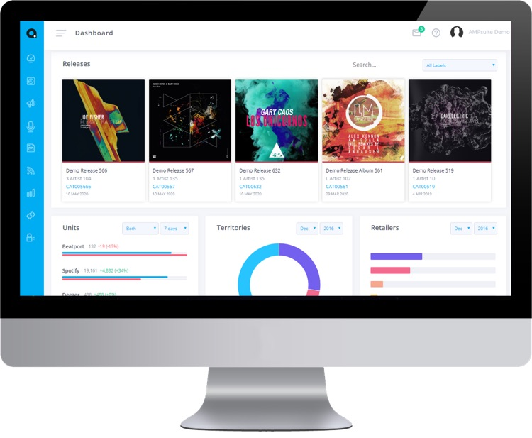 Ampsuite 5 Introduces Significant Content Management And Royalty Accounting Enhancements For Labels