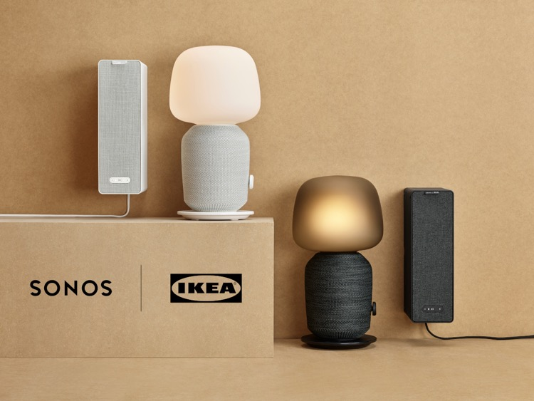 Sonos and Ikea's speaker concepts