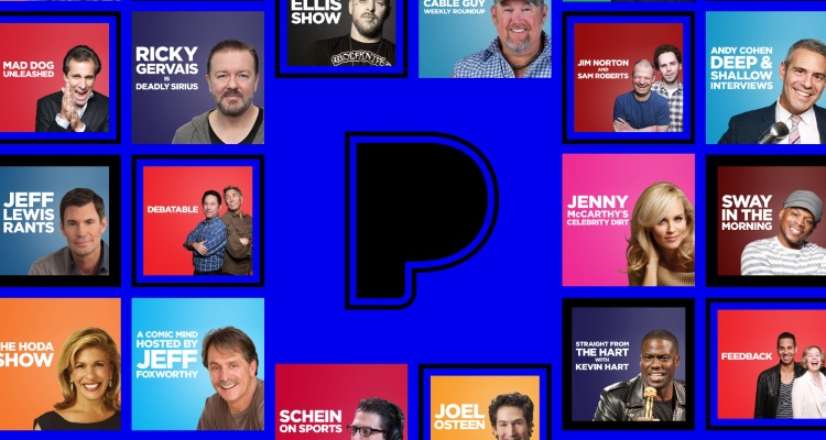 SiriusXM Converts 22 Of Its Shows Into Exclusive Pandora Podcasts