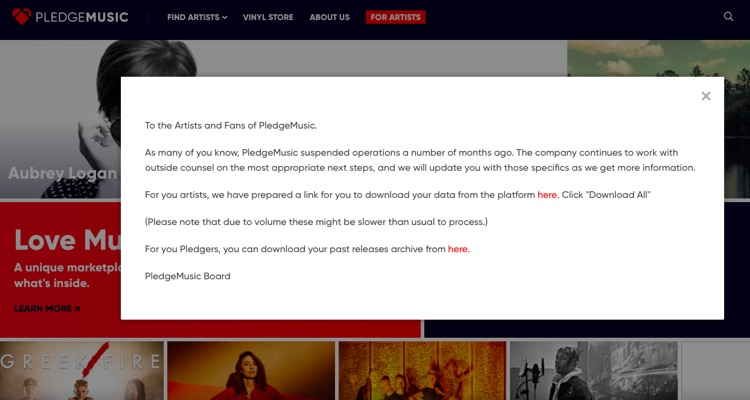 Pledgemusic's Board Breaks Its Silence As Criminal Charges Loom