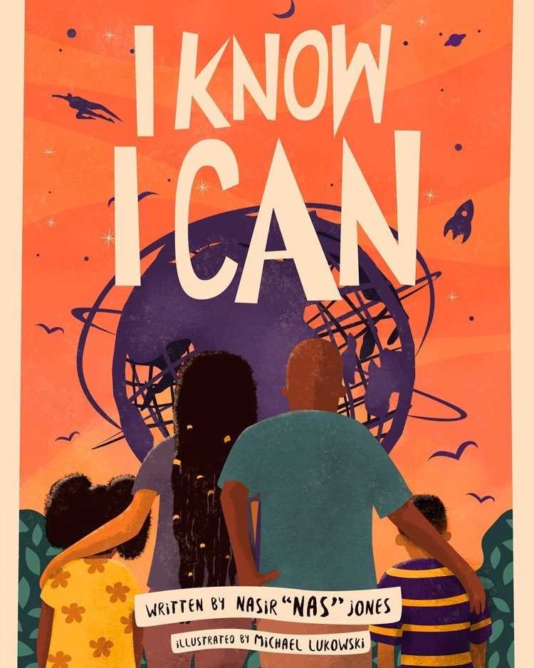 Nas Is Releasing a Children's Book Called 'I Know I Can'