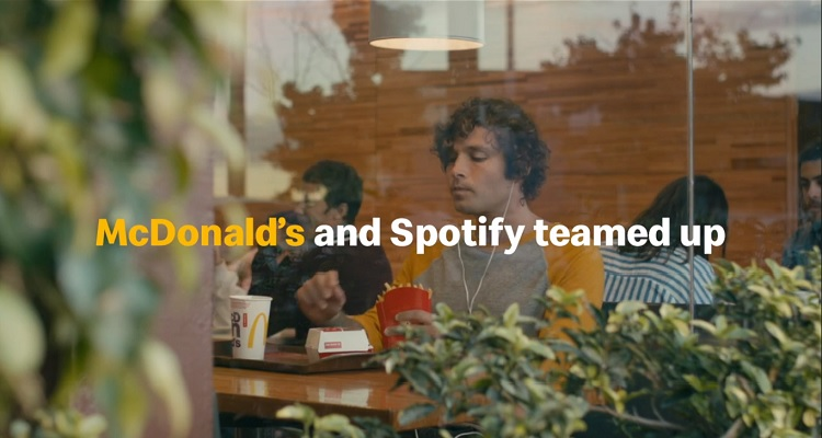 McDonald's Teams Up With Spotify to Offer Playlists Based on French Fries