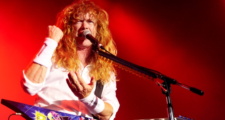 Megadeth Fans Show Outpouring Of Support As Dave Mustaine Reveals Cancer Diagnosis