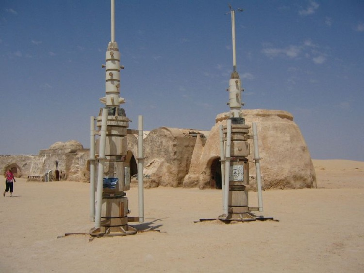 Homes in Tatooine (photo: Veronique Debord CC by SA 2.0)