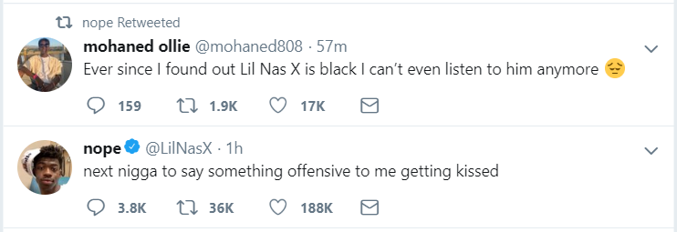 """Lil Nas X Comes Out as Gay — """"Thought I Made It Obvious"""""""